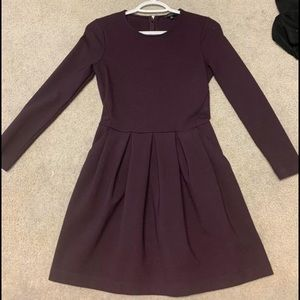 Purple aritzia dress